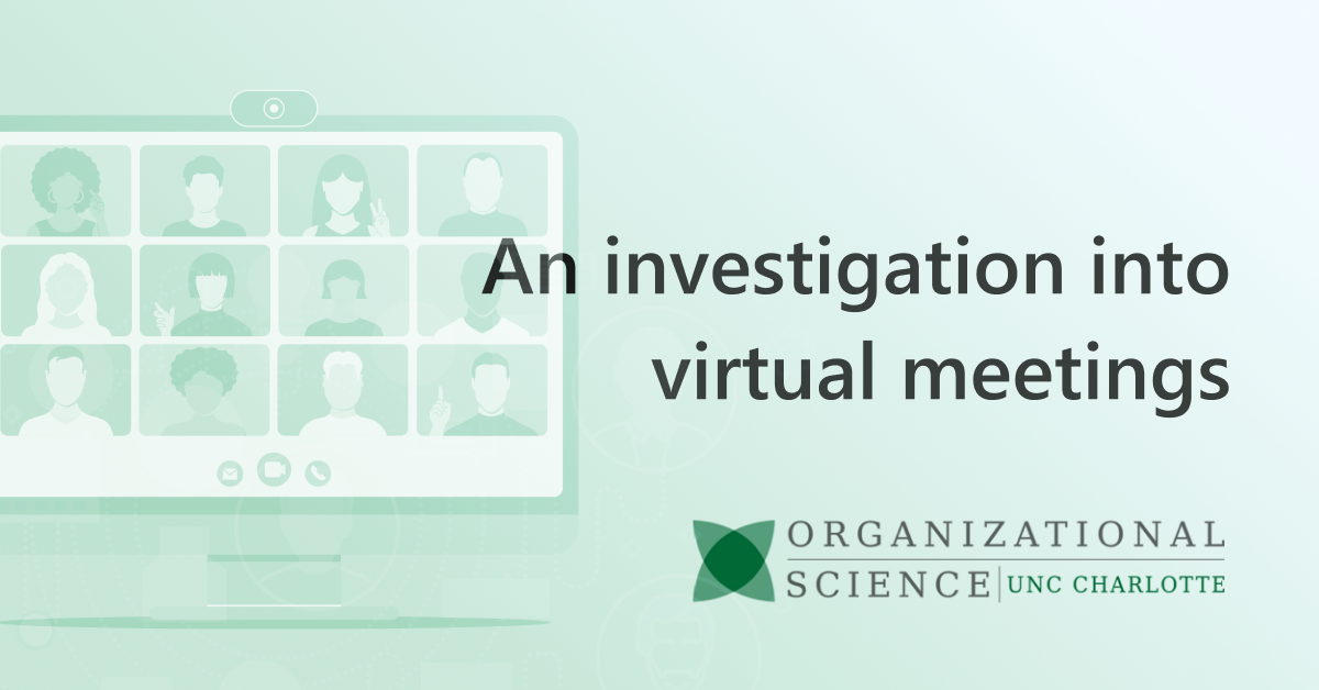 Five strategies for leaders to improve their virtual meeting skills